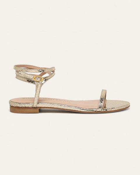 Zlaté boty Stuart Weitzman