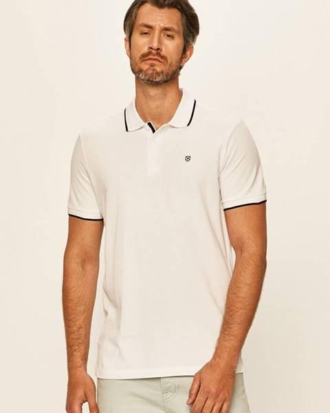 Bílé tričko Premium by Jack&Jones