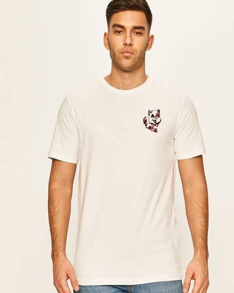 Bílé tričko Volcom