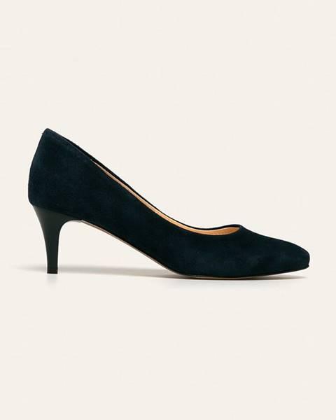 Modré boty Wojas