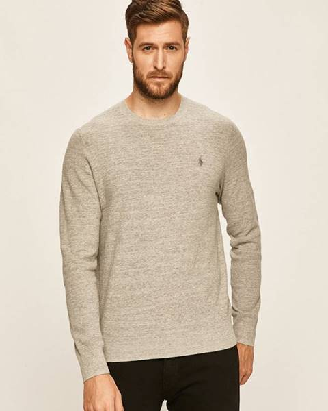 Šedý svetr Polo Ralph Lauren