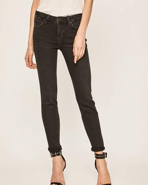Černé kalhoty lee