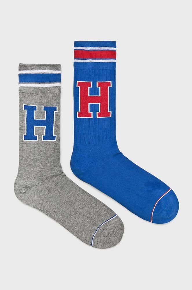 tommy hilfiger Tommy Hilfiger - Ponožky TH Patch (2-pack)