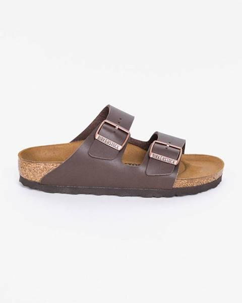Hnědé boty Birkenstock