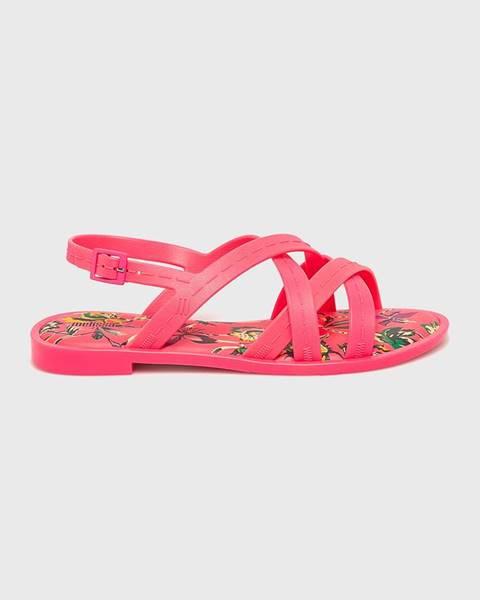 Růžové boty Melissa