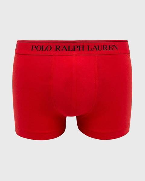 Červené spodní prádlo Polo Ralph Lauren