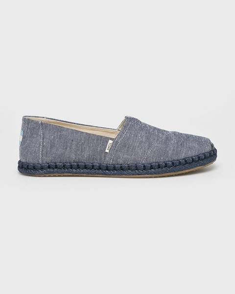 Modré boty toms