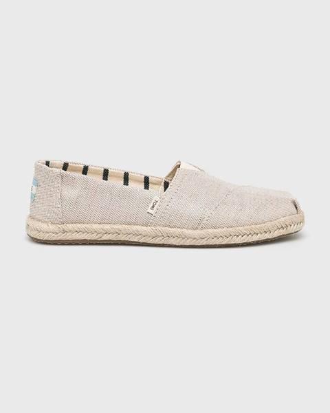 Béžové boty toms