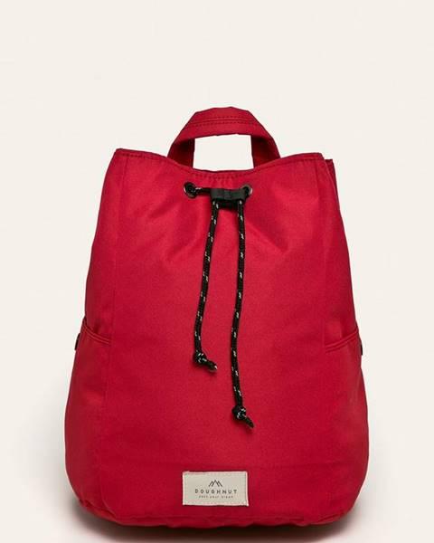 Červený batoh Doughnut
