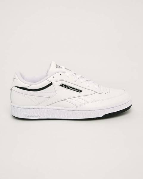 Bílé boty reebok classic
