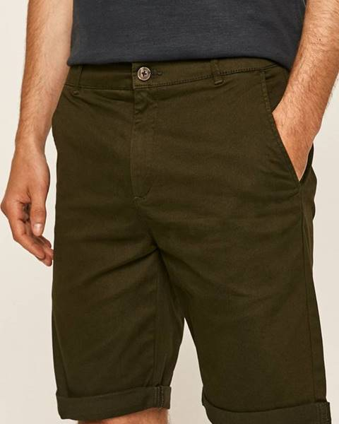 Zelené kraťasy Tailored & Originals