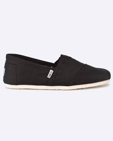 Černé boty toms