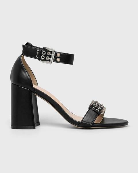Černé boty Public Desire