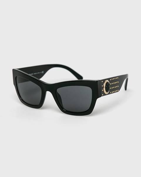 Černé brýle Versace