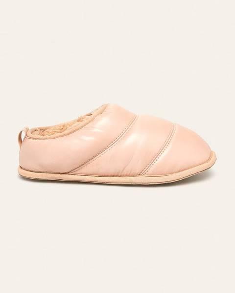 Béžové boty sorel