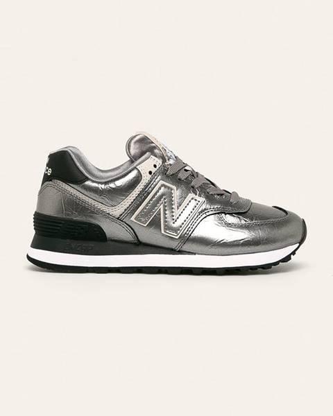 Stříbrné boty new balance