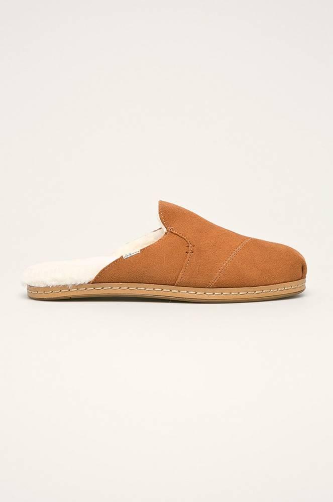 toms Toms - Pantofle Nova Leather Wrap