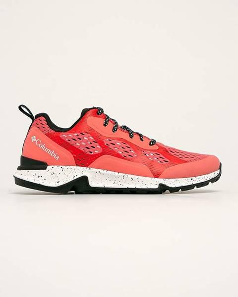 Oranžové boty columbia