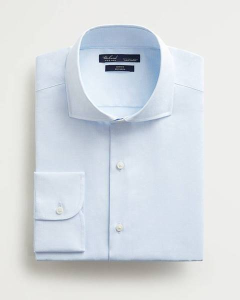 Modrá košile Mango Man