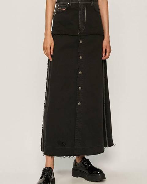 Černá sukně Diesel