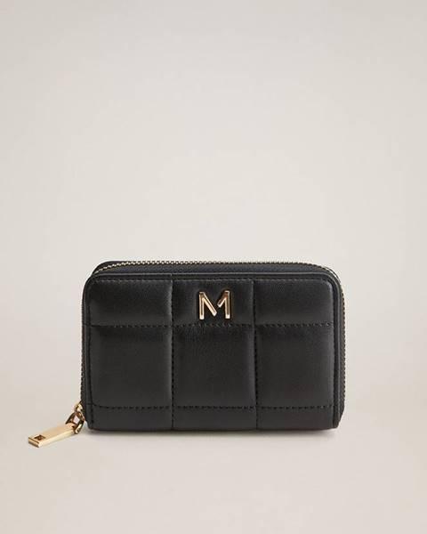Černá peněženka Mango