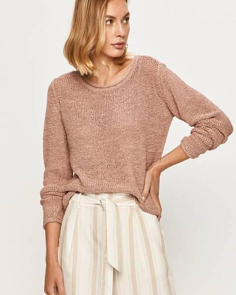 Růžový svetr jacqueline de yong