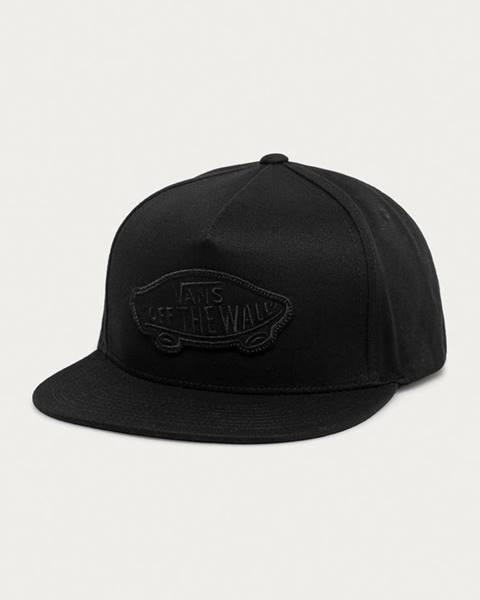 Černá čepice vans