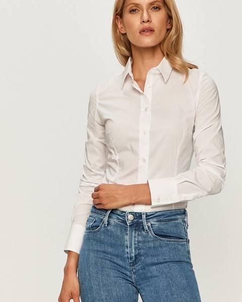 Bílá halenka Trussardi Jeans