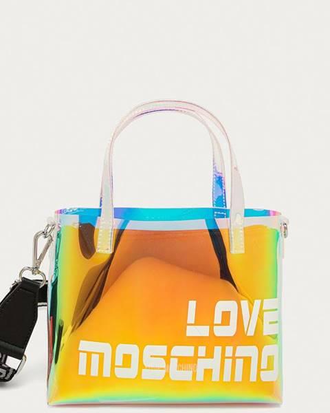 Žlutá kabelka Love Moschino
