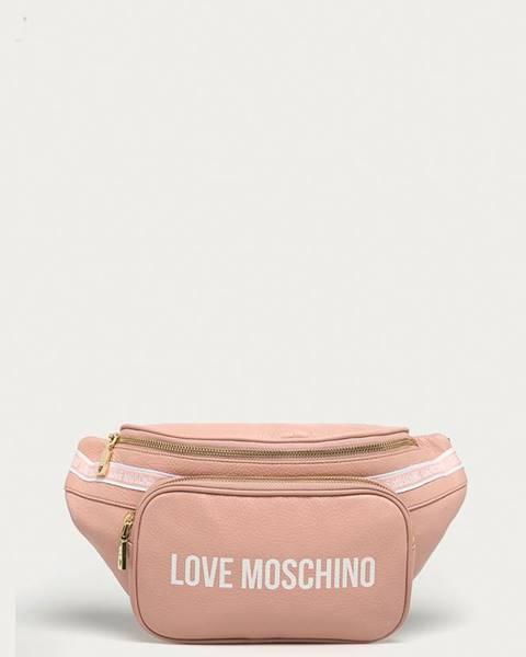 Růžová ledvinka Love Moschino