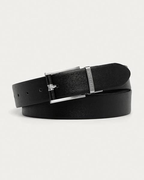 Černý pásek Guess Jeans