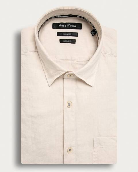 Béžová košile Marc O'Polo