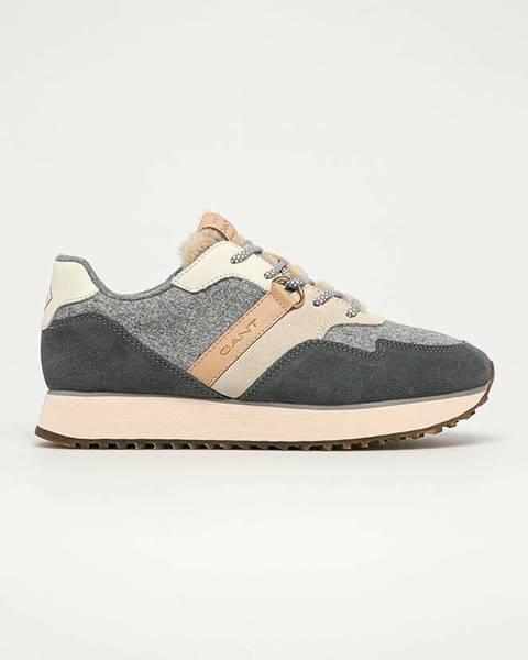 Šedé boty gant