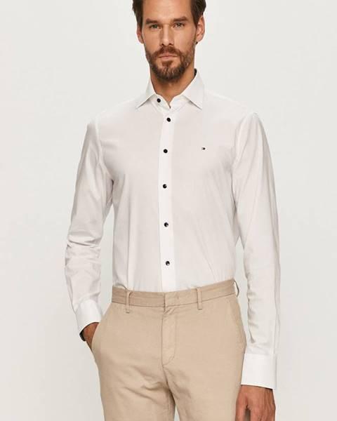 Bílá košile Tommy Hilfiger Tailored
