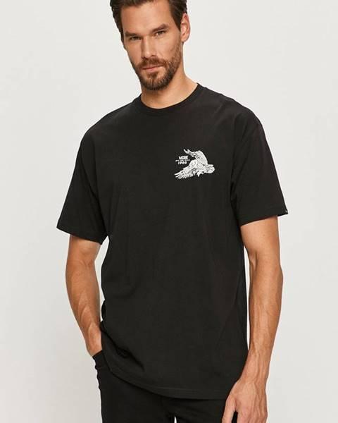 Černé tričko vans