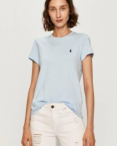 Modrý top Polo Ralph Lauren