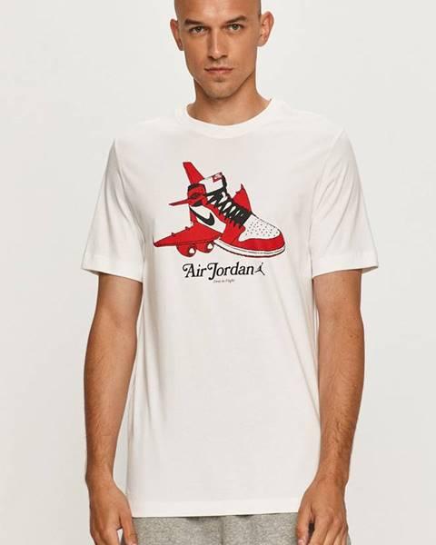 Bílé tričko Jordan
