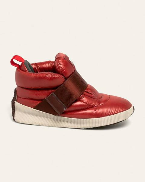 Červené boty sorel