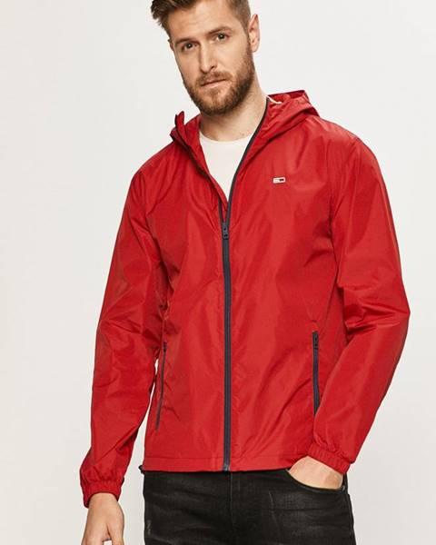 Červená bunda Tommy Jeans