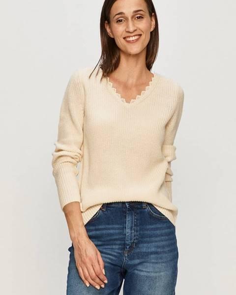 Béžový svetr only