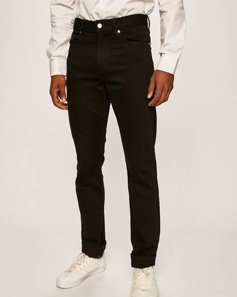 Černé kalhoty Calvin Klein
