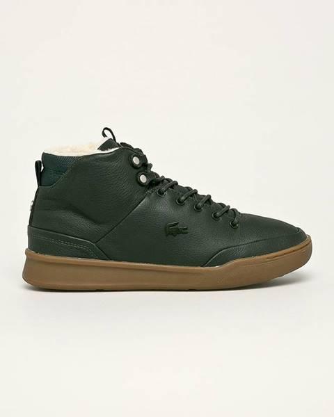 Zelené boty lacoste