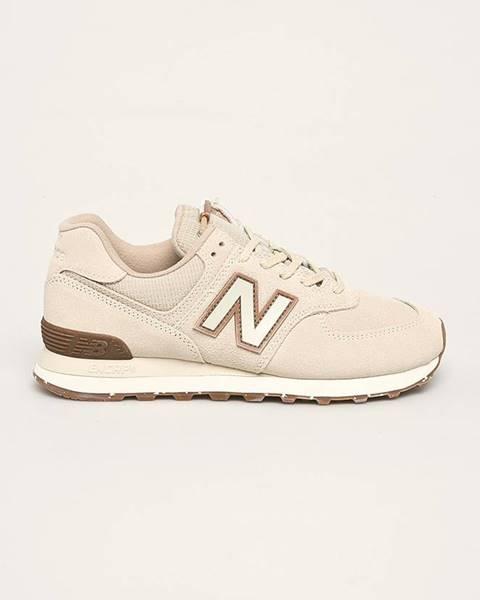 Béžové boty new balance