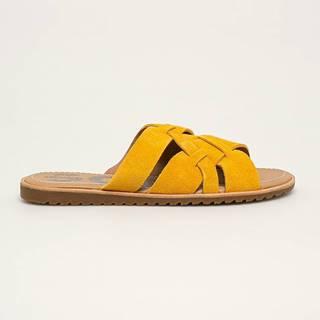 Sorel - Kožené pantofle Ella