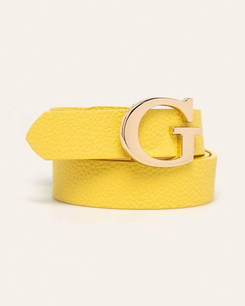 Žlutý pásek Guess Jeans