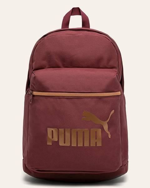Červený batoh puma