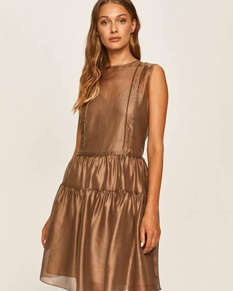 Hnědé šaty Max&Co.