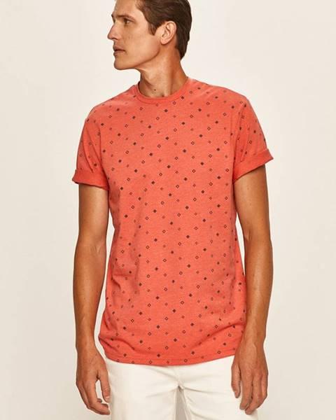 Červené tričko only & sons