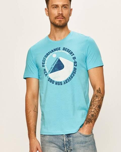 Modré tričko tom tailor denim