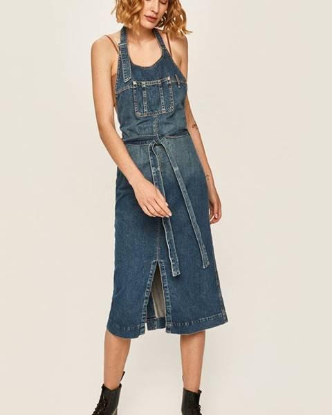 Modré šaty pepe jeans